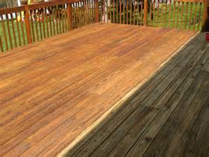 cedar deck powerwashing