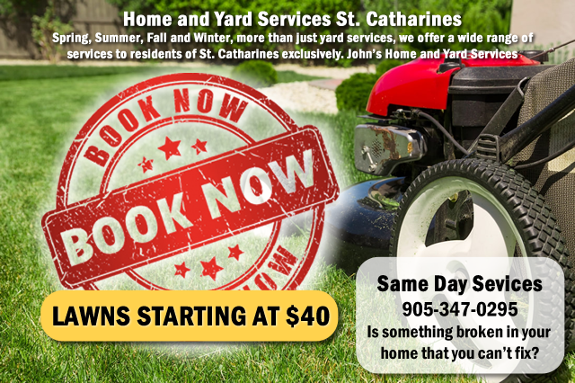 Home and Yard Services St. Catharines John's Home and Yard Services